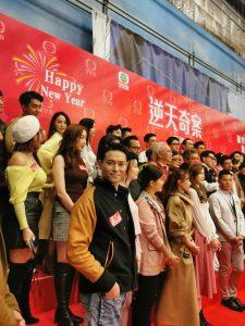【永远的偶像】海俊杰冻龄回归拍港剧《逆天奇案》 天盟艺人祝大家2020 Happy New Year
